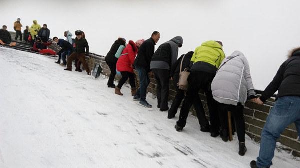 Conseils pour escalader la Grande Muraille en hiver
